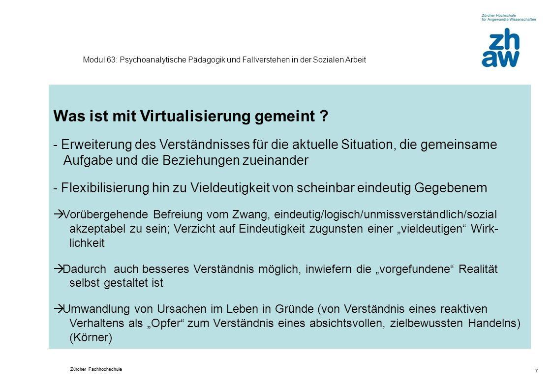 Was ist mit Virtualisierung gemeint