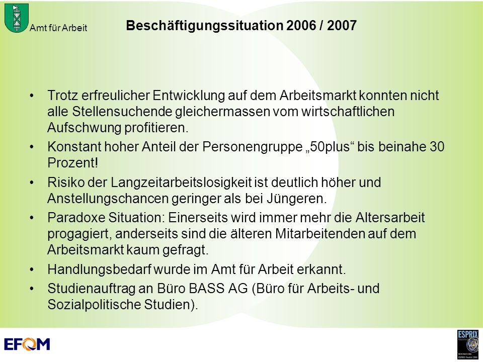 Beschäftigungssituation 2006 / 2007
