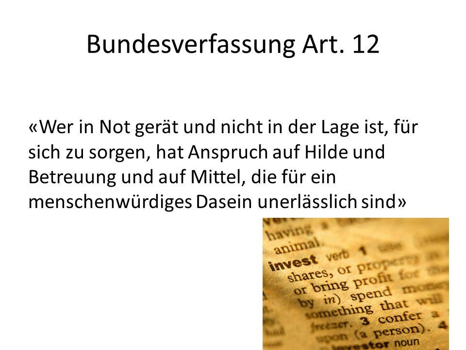 Bundesverfassung Art. 12