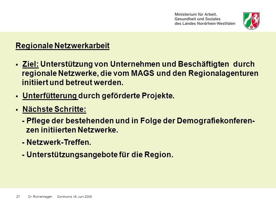 Regionale Netzwerkarbeit