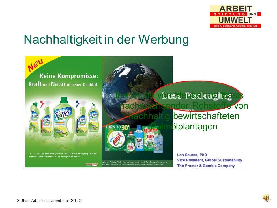 Nachhaltigkeit in der Werbung