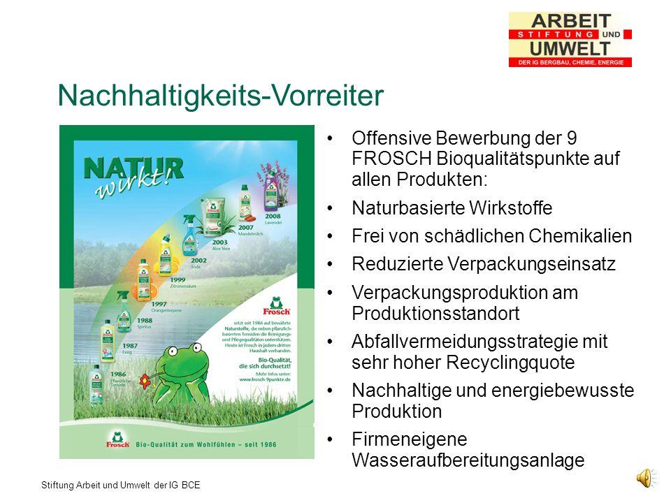 Nachhaltigkeits-Vorreiter