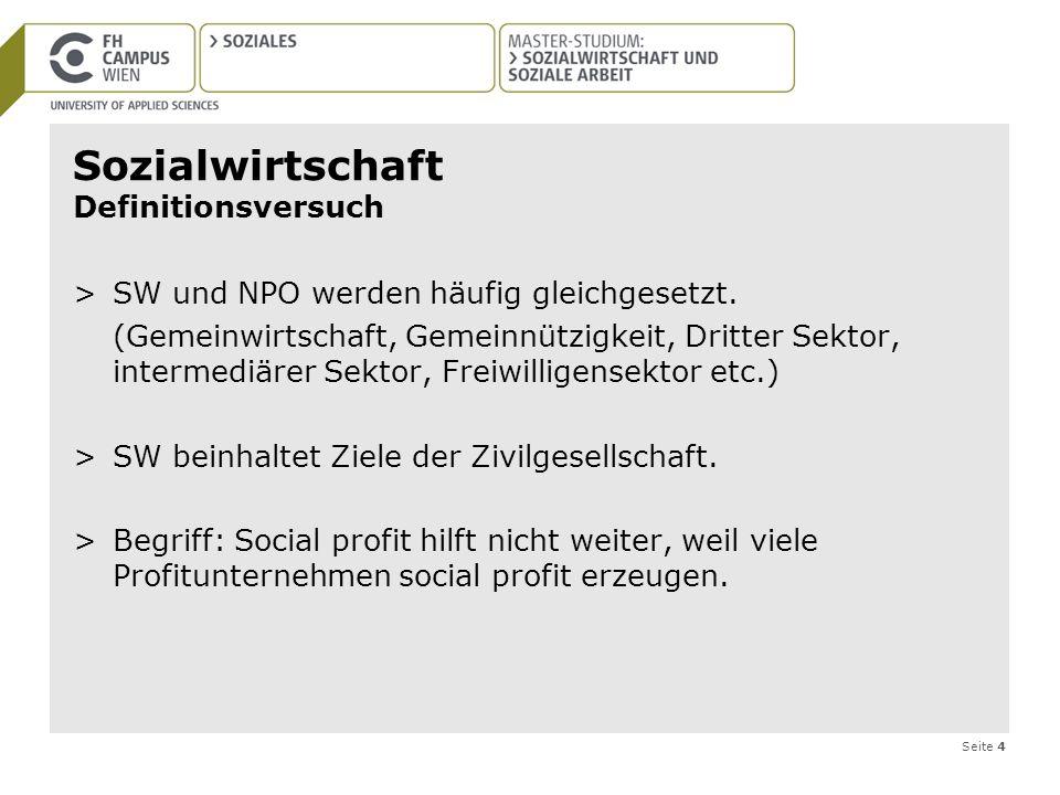 Sozialwirtschaft Definitionsversuch