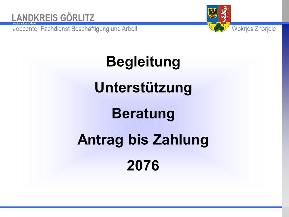 Begleitung Unterstützung Beratung Antrag bis Zahlung 2076