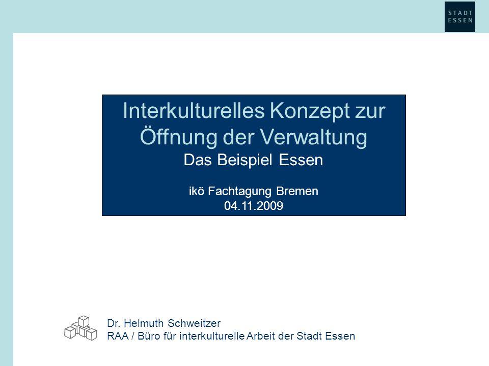 Interkulturelles Konzept zur Öffnung der Verwaltung