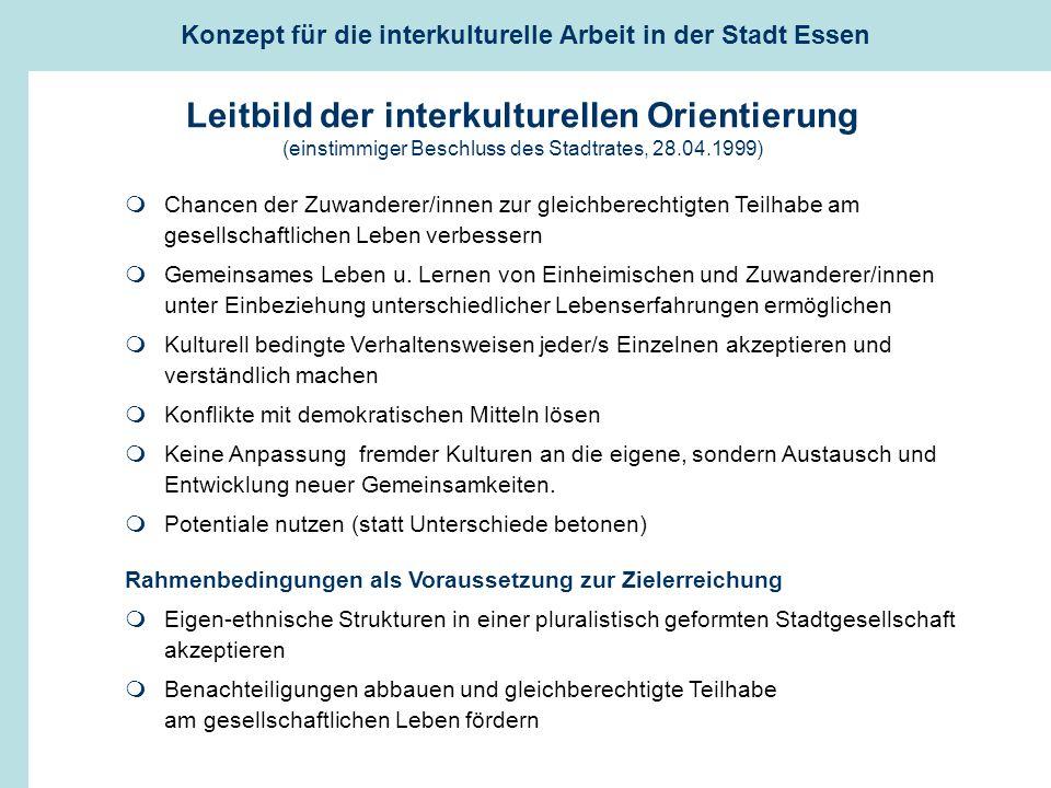 Leitbild der interkulturellen Orientierung