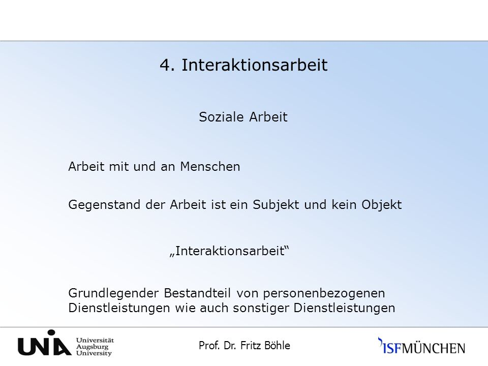 """Interaktionsarbeit"