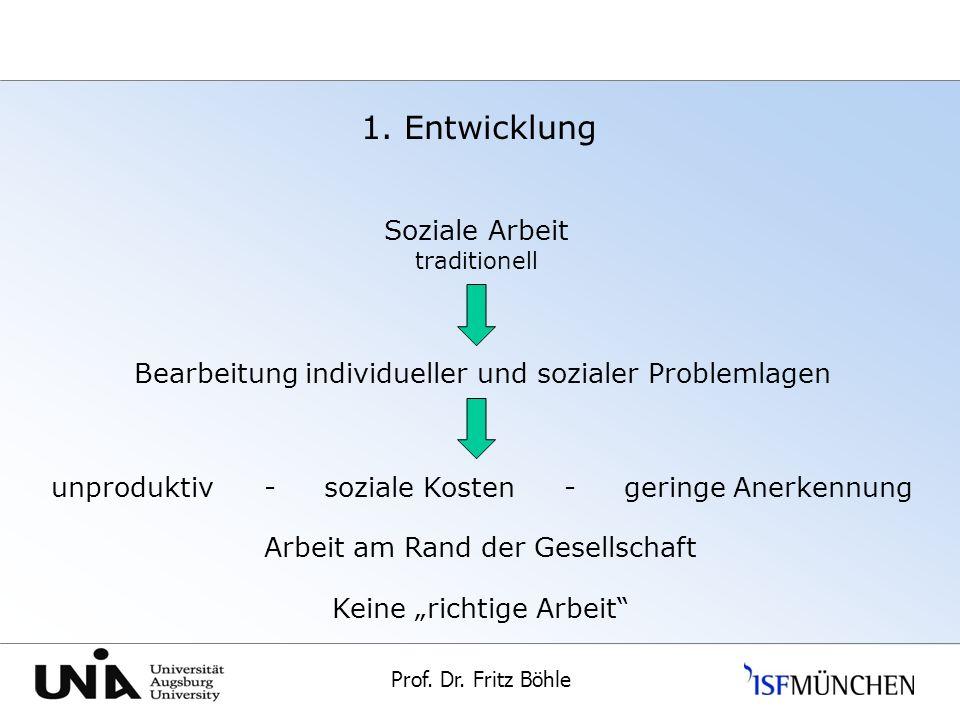 1. Entwicklung Soziale Arbeit