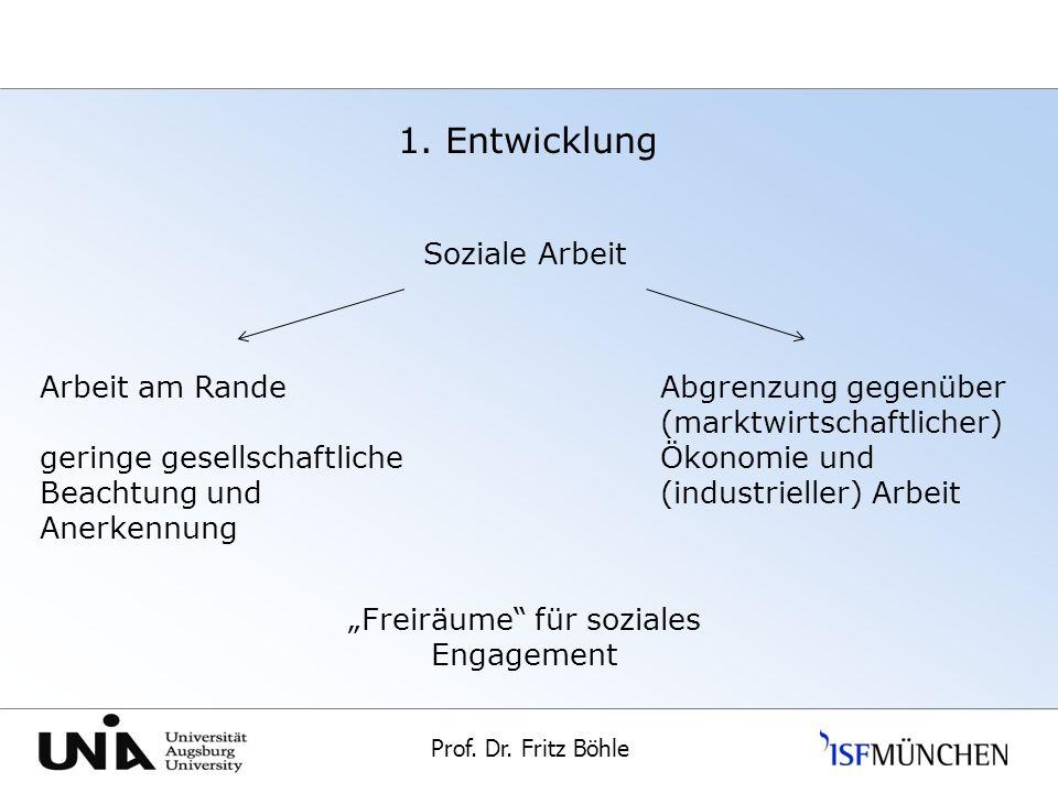 """""""Freiräume für soziales Engagement"""