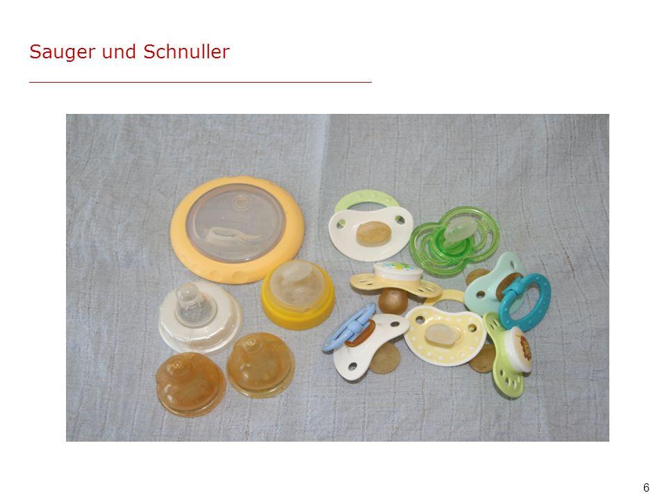 Sauger und Schnuller _____________________________