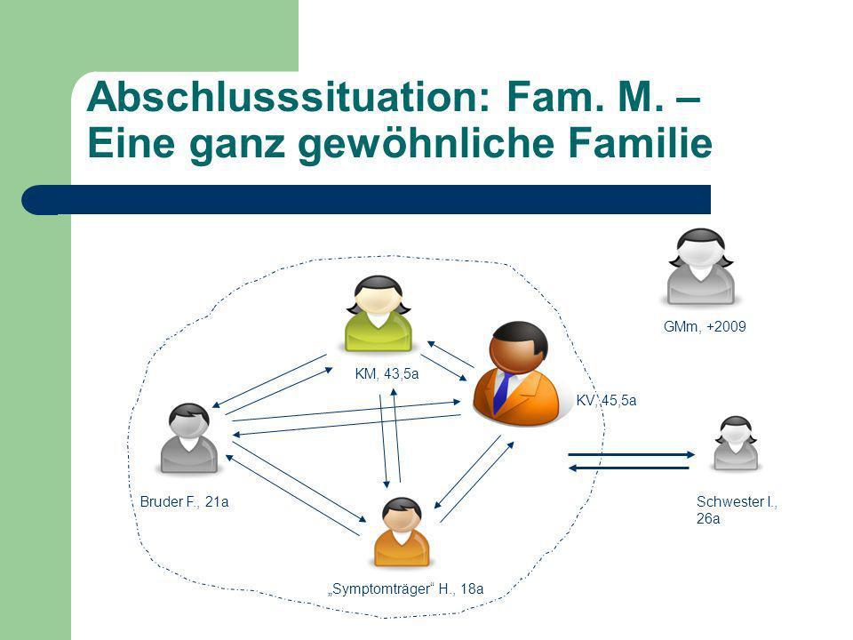 Abschlusssituation: Fam. M. – Eine ganz gewöhnliche Familie