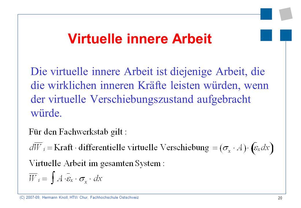 Virtuelle innere Arbeit