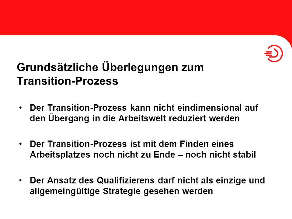 Grundsätzliche Überlegungen zum Transition-Prozess
