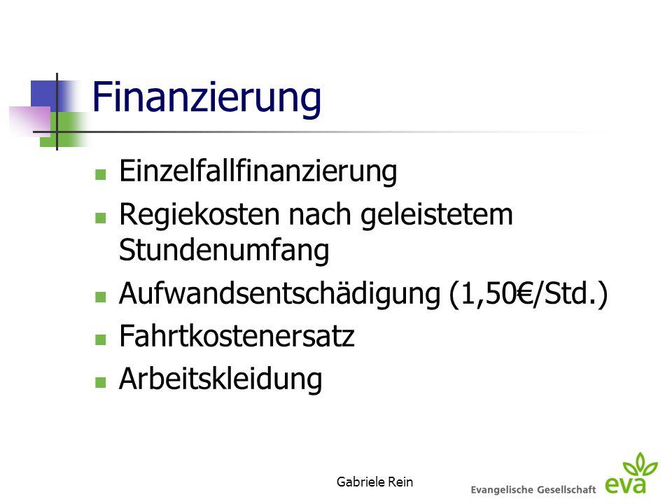 Finanzierung Einzelfallfinanzierung