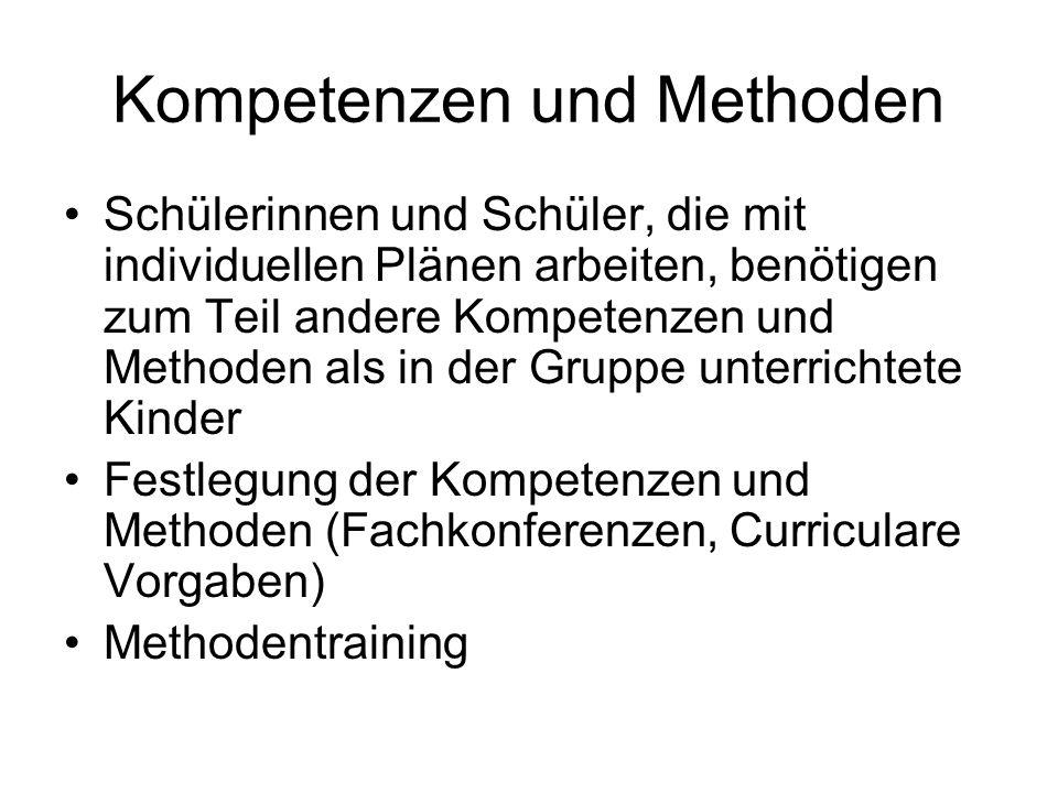 Kompetenzen und Methoden