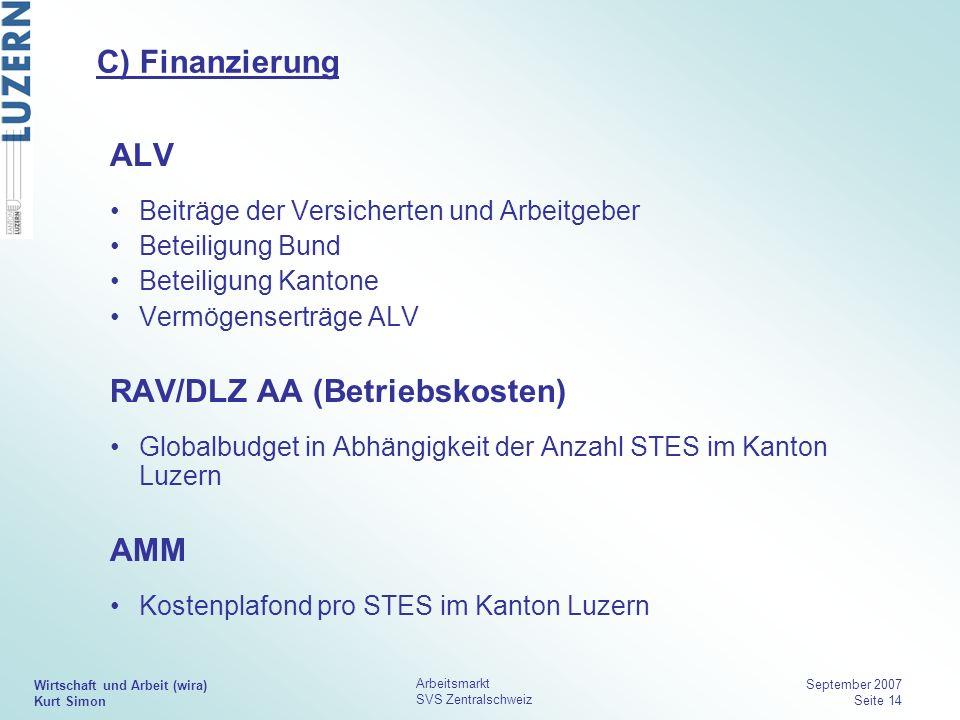 RAV/DLZ AA (Betriebskosten)
