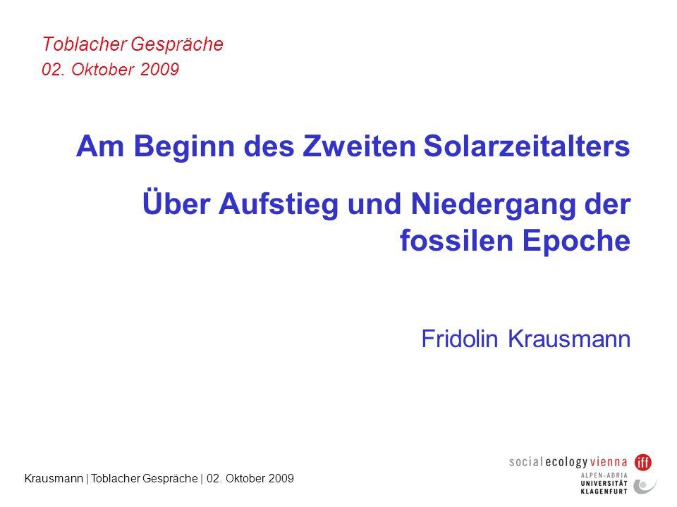 Toblacher Gespräche 02. Oktober 2009
