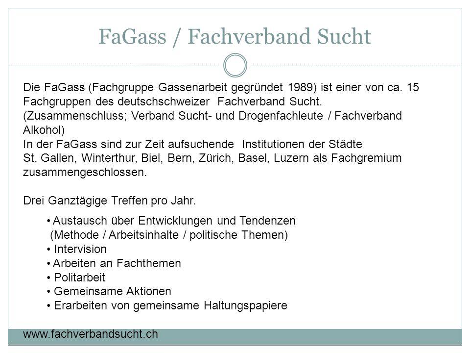 FaGass / Fachverband Sucht