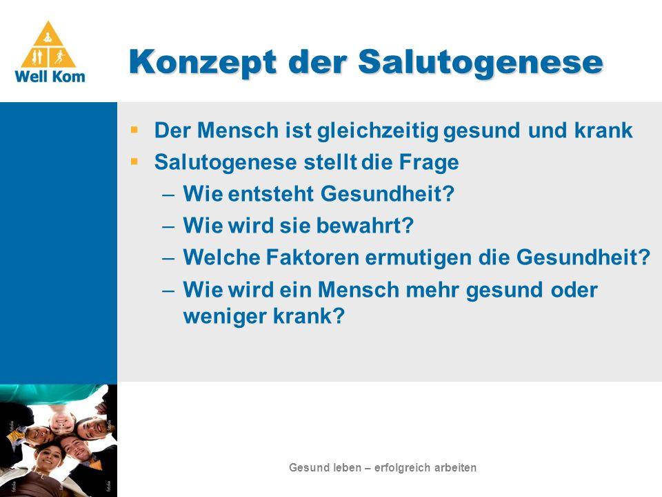 Konzept der Salutogenese