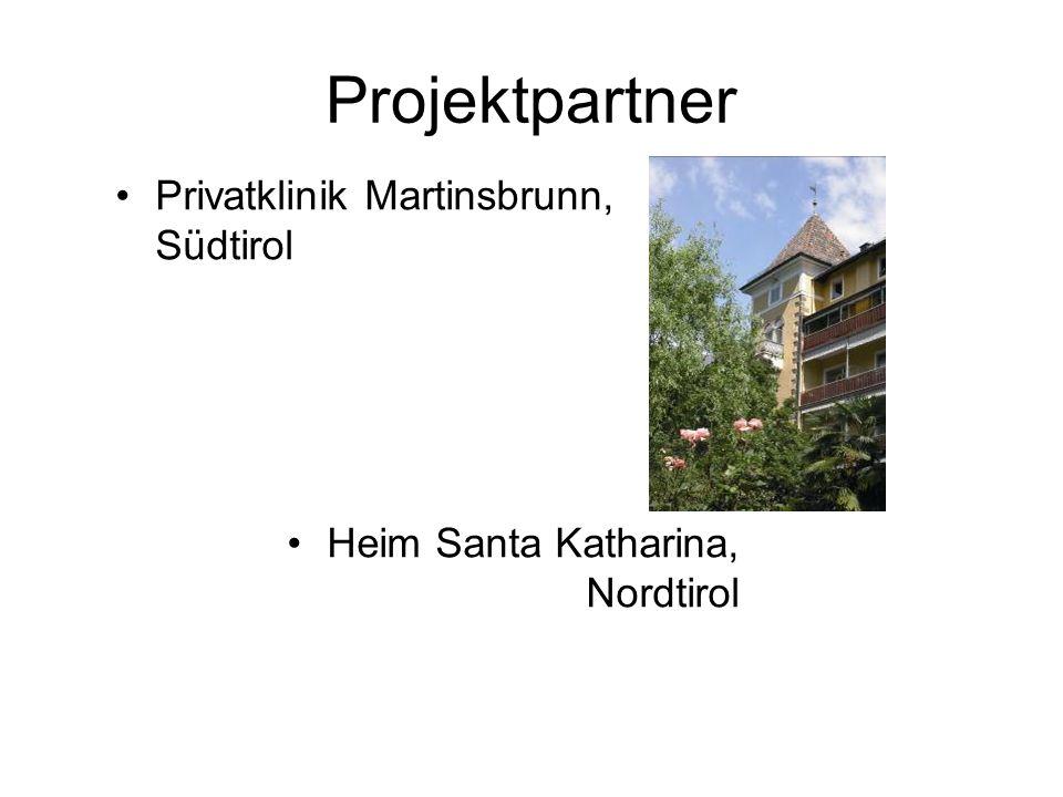 Projektpartner Privatklinik Martinsbrunn, Südtirol