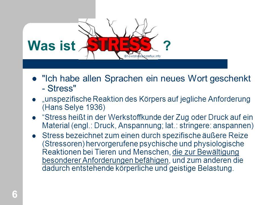 ©howtotreatacidreflux.info Was ist Ich habe allen Sprachen ein neues Wort geschenkt - Stress