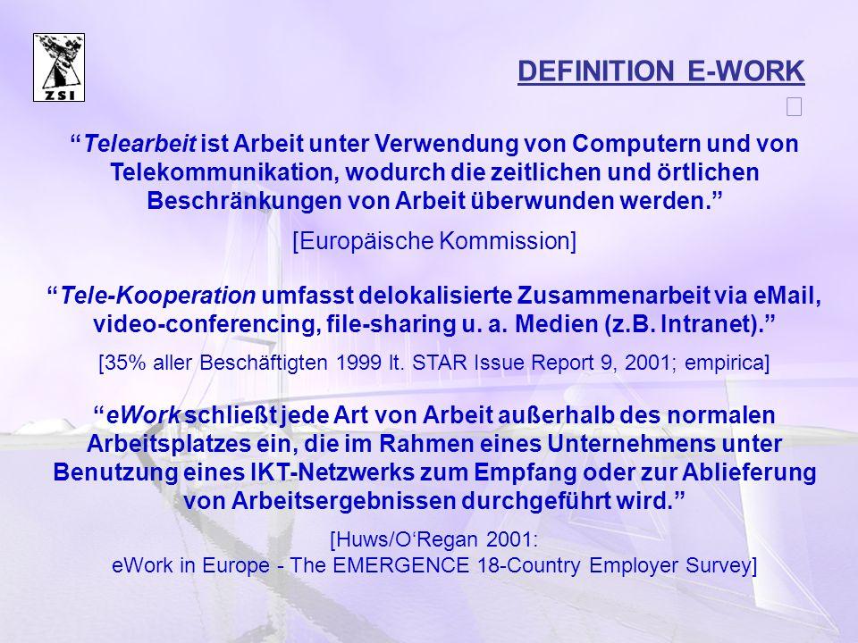 DEFINITION E-WORK
