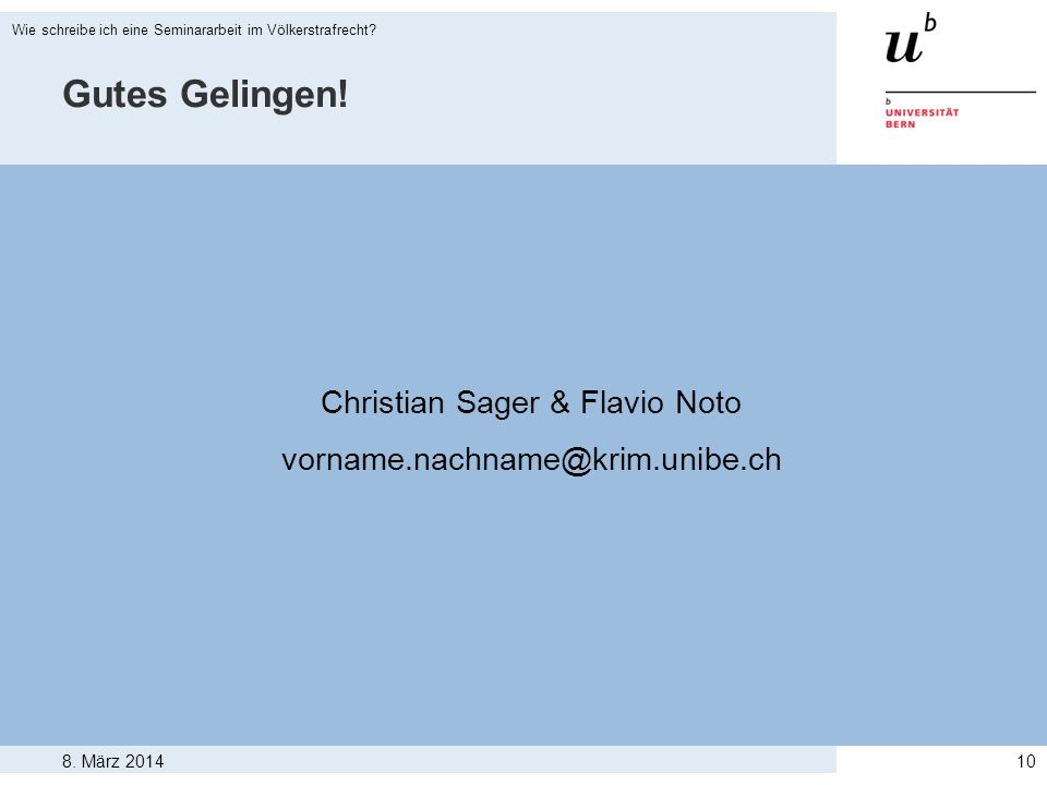 Christian Sager & Flavio Noto