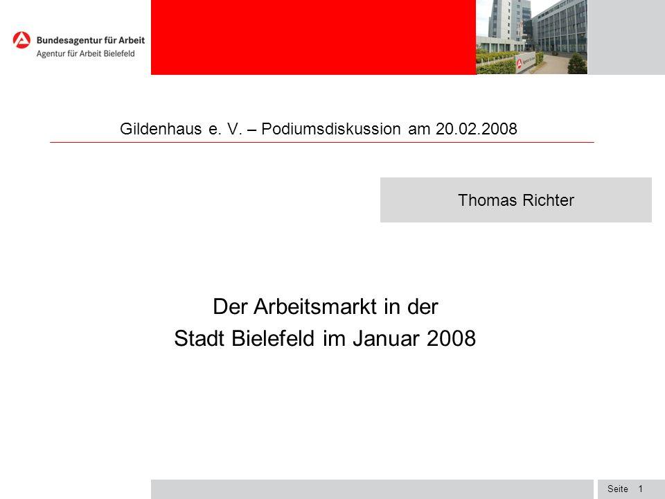 Gildenhaus e. V. – Podiumsdiskussion am 20.02.2008