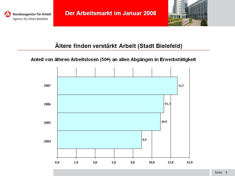 Ältere finden verstärkt Arbeit (Stadt Bielefeld)