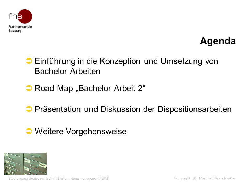 Studiengang Betriebswirtschaft & Informationsmanagement (BWI)