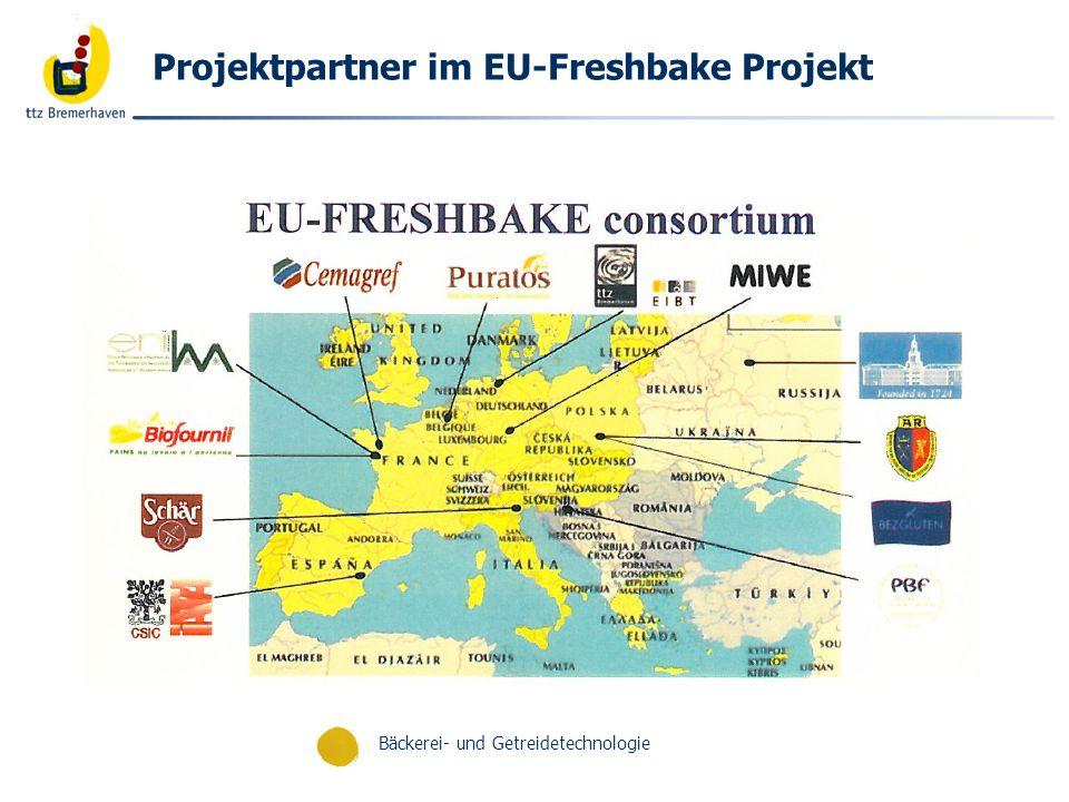 Projektpartner im EU-Freshbake Projekt