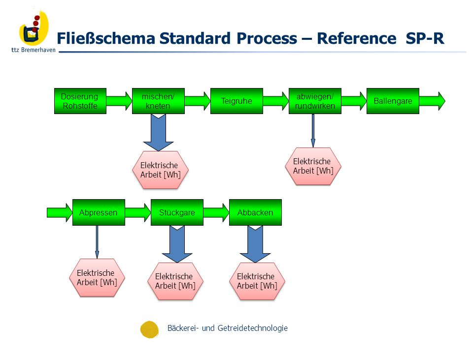 Fließschema Standard Process – Reference SP-R