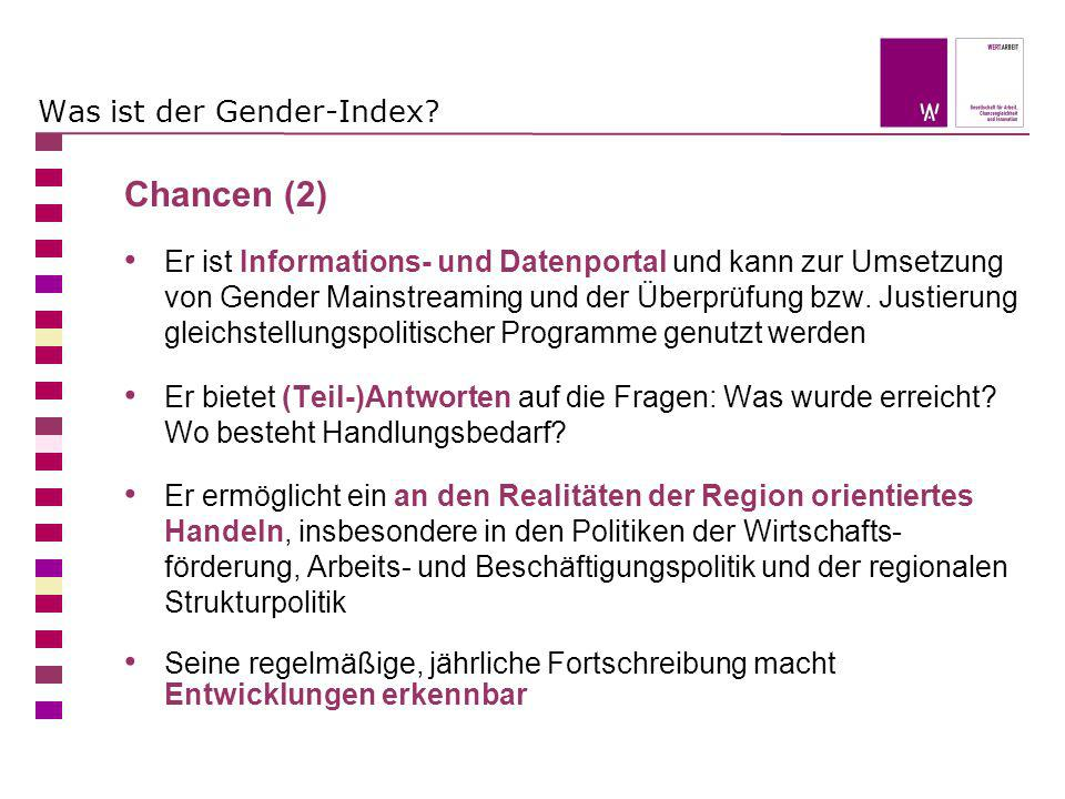 Was ist der Gender-Index