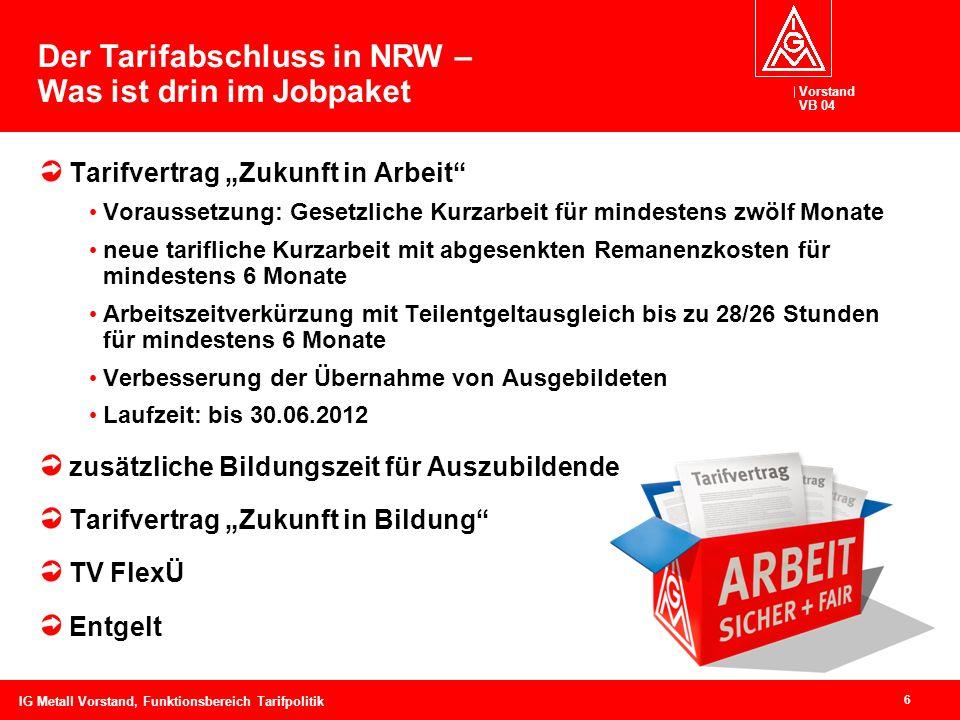 Der Tarifabschluss in NRW – Was ist drin im Jobpaket