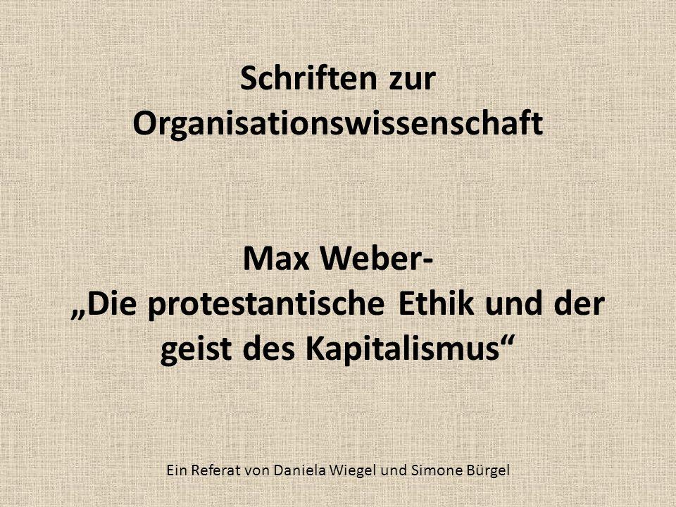 Ein Referat von Daniela Wiegel und Simone Bürgel