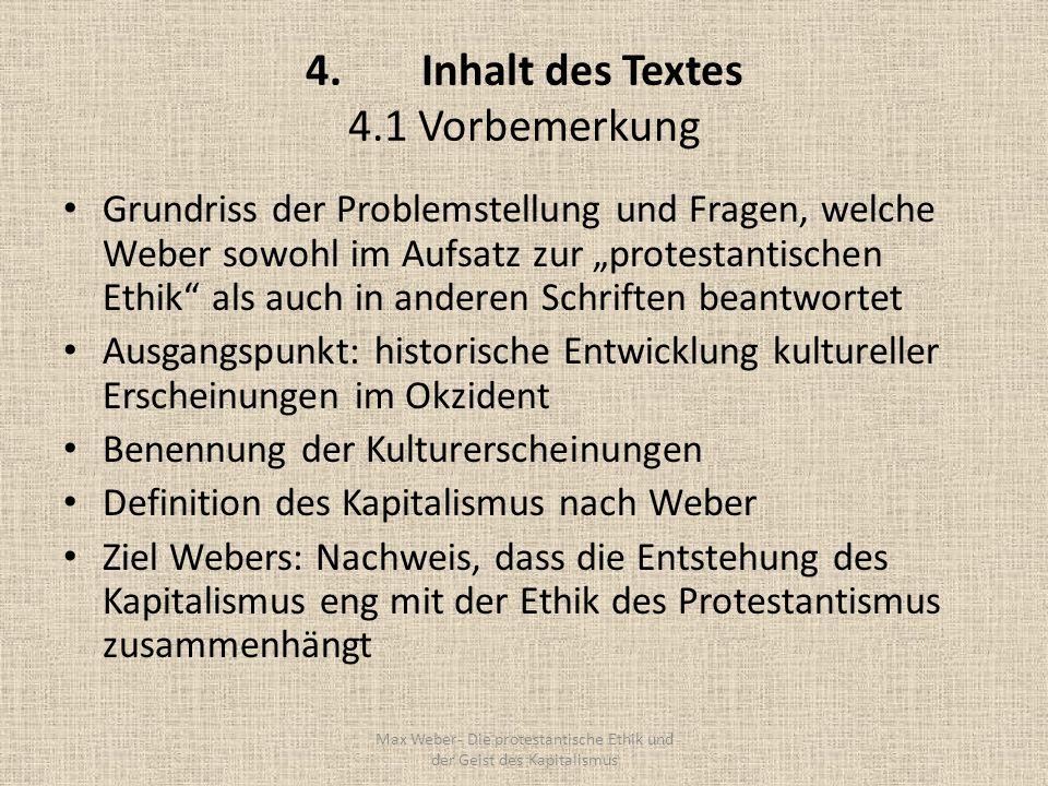 4. Inhalt des Textes 4.1 Vorbemerkung