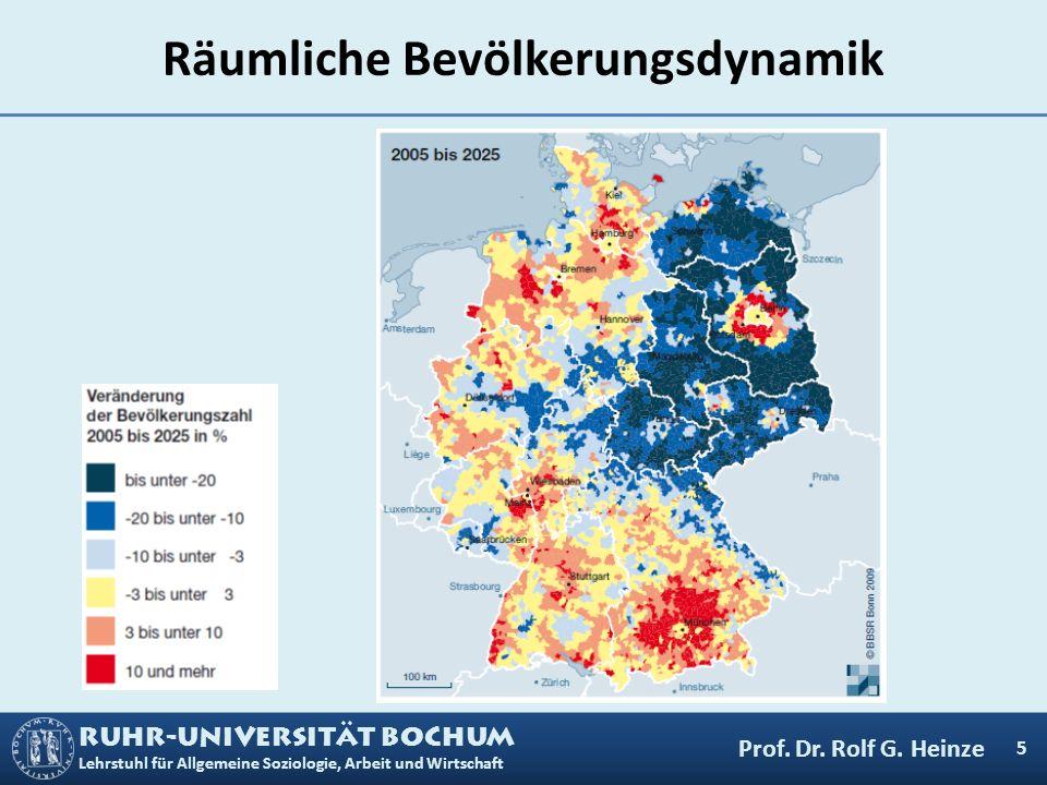 Räumliche Bevölkerungsdynamik