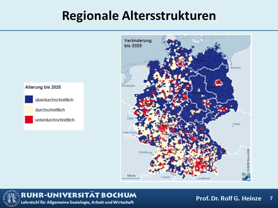 Regionale Altersstrukturen