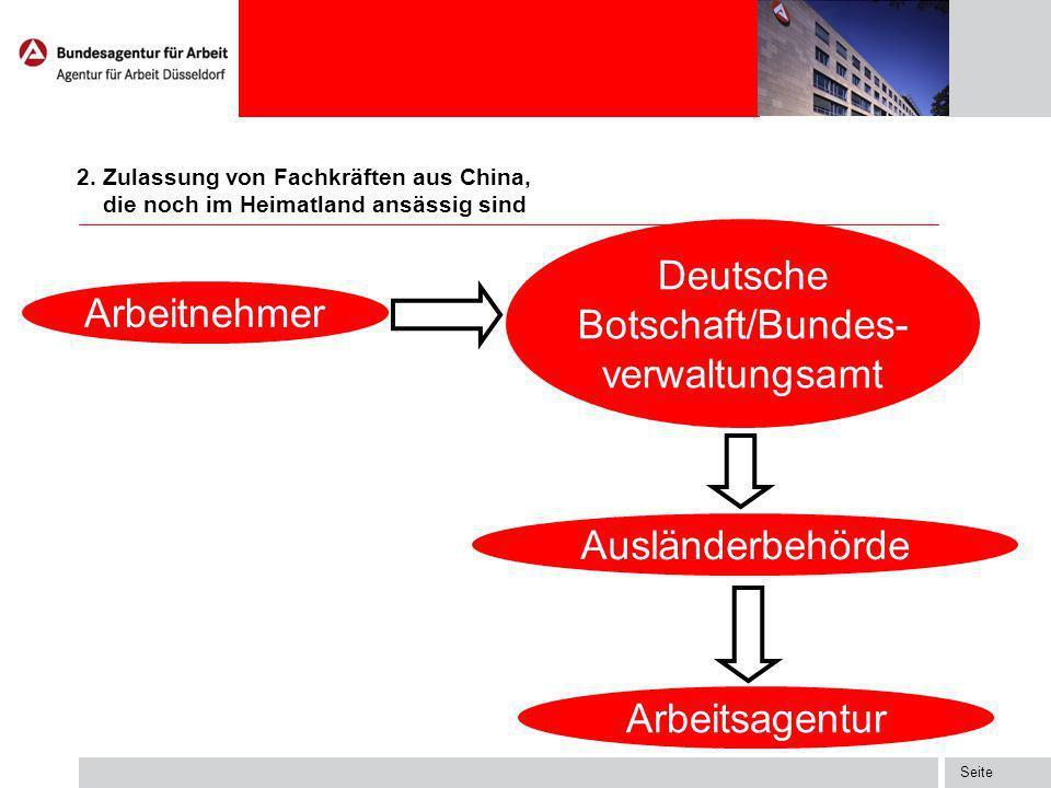 Deutsche Botschaft/Bundes-verwaltungsamt
