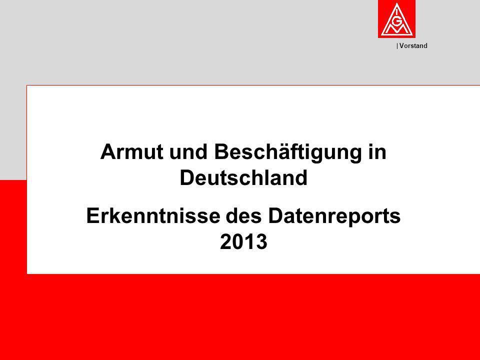 Armut und Beschäftigung in Deutschland