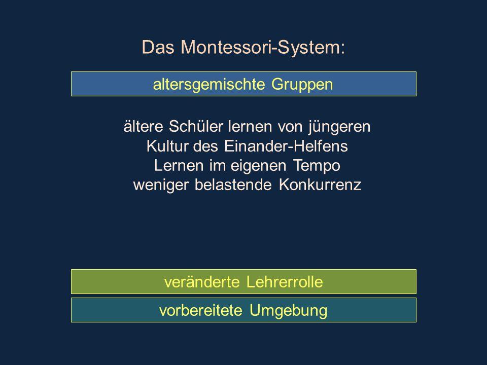 Das Montessori-System: