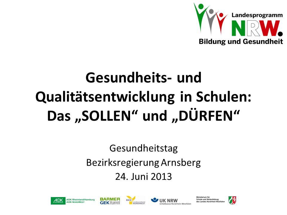 Gesundheitstag Bezirksregierung Arnsberg 24. Juni 2013