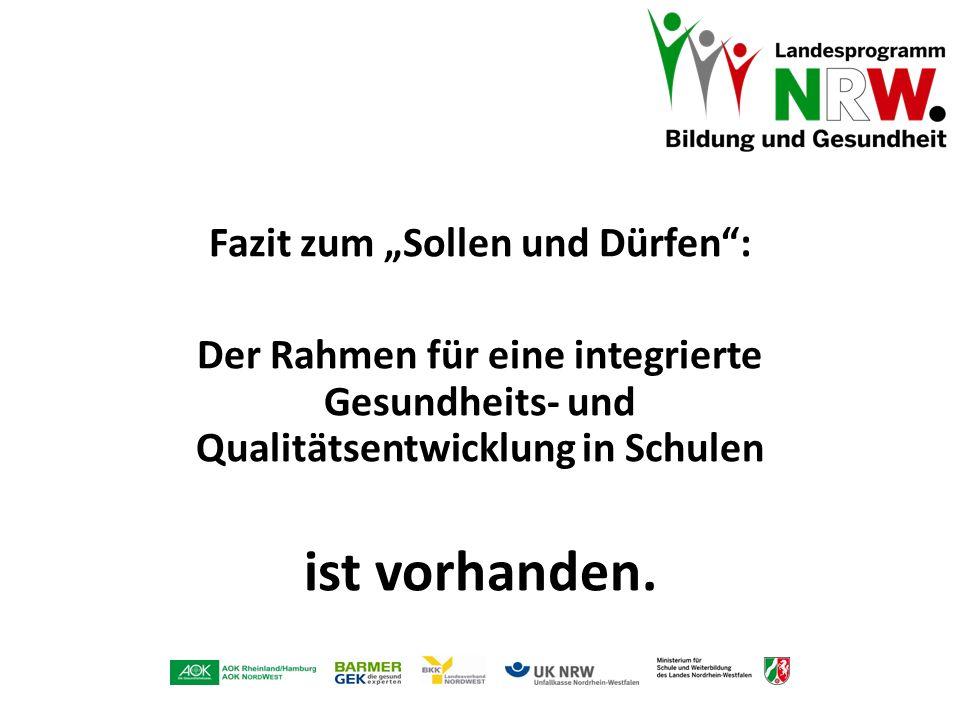 """Fazit zum """"Sollen und Dürfen :"""