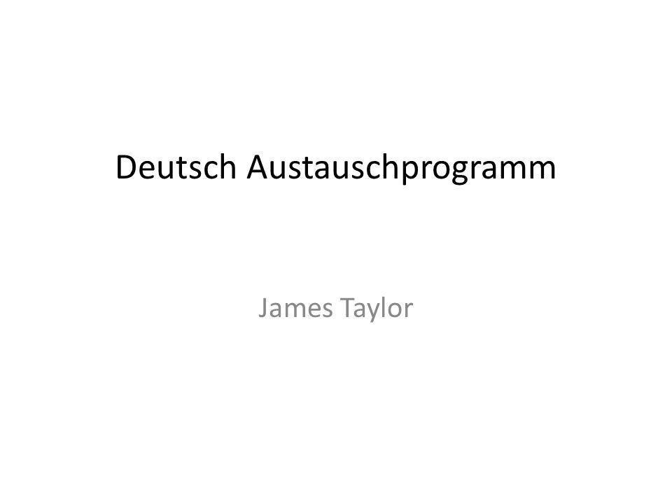 Deutsch Austauschprogramm