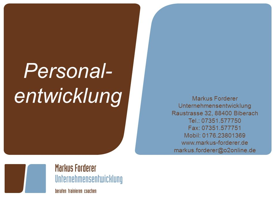 Personal-entwicklung