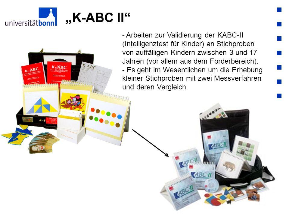 """""""K-ABC II"""