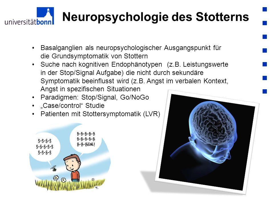 Neuropsychologie des Stotterns