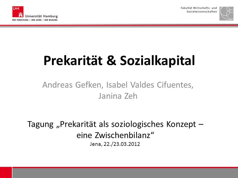 Prekarität & Sozialkapital