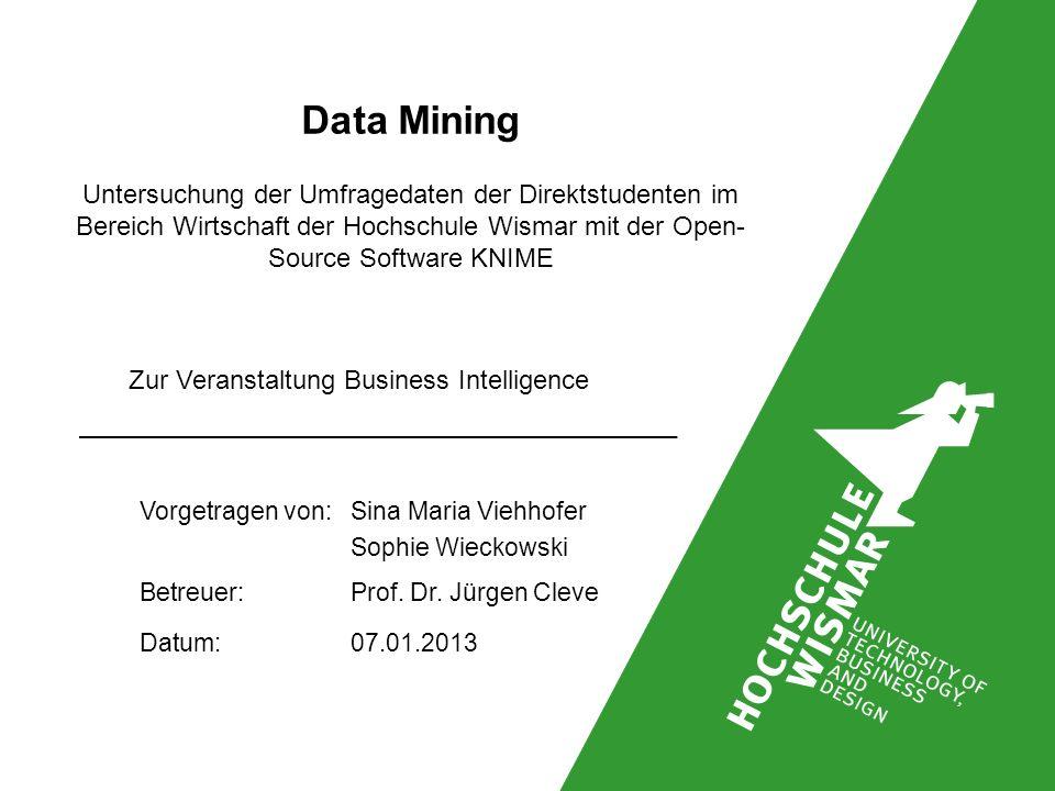 Zur Veranstaltung Business Intelligence