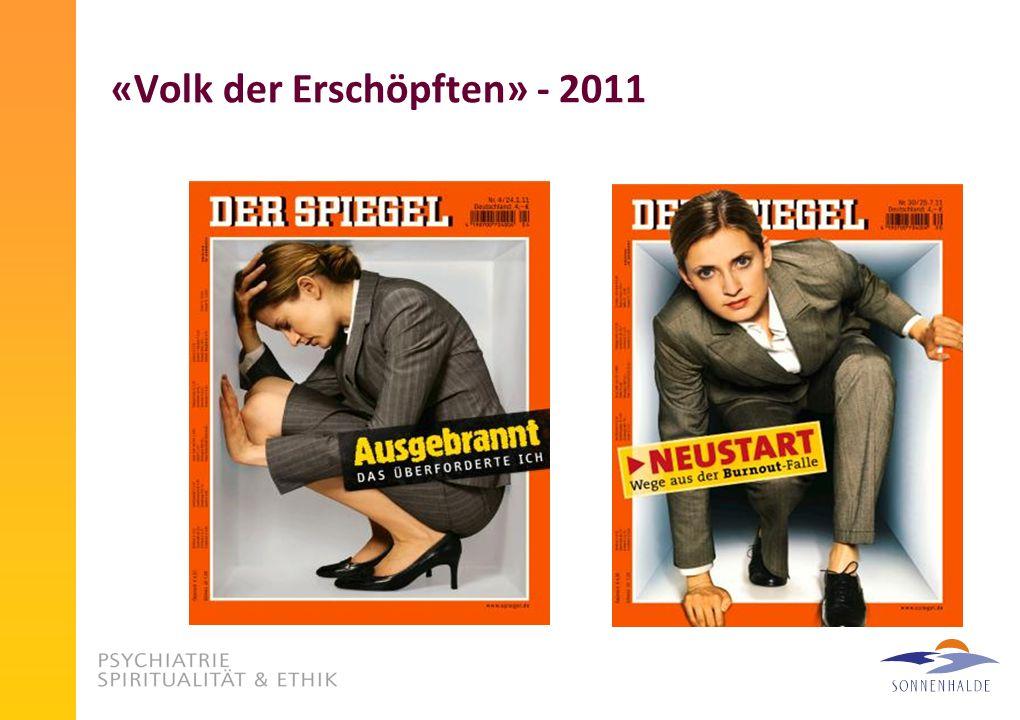 «Volk der Erschöpften» - 2011